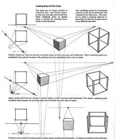 Side Vi Ew - Perspective Drawing - Joshua Nava Arts