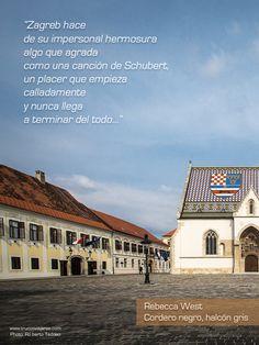 Zagreb por Rebecca West en Cordero negro, halcón gris. Foto de Roberto Taddeo