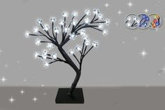 £7.99 instead of £16 (from Zoozio) for an LED bonsai tree - choose from blue, white or multi and save 50%