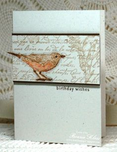 Nature Walk Birthday by bon2stamp - Cards and Paper Crafts at Splitcoaststampers