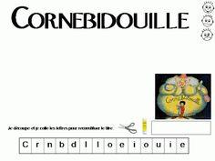 Maternelle: Cornebidouille, exploitation en lecture