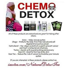 Do You Know Someone With #Cancer?, They need this to assist their bodies with getting a #natural weight.  This #Detox helps bring the body in balance, so it can begin to restore itself. Order Yours Here: http://iasotea.com/NaturalDetoxTea  #TLC
