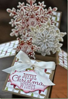Stampin' Up! Christmas by Moinca G: Card in a Box