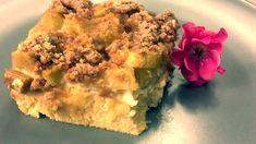 Rhabarberkuchen mit Streusel - Rezept von Joes Cucina Verde Spanakopita, Chef, Ethnic Recipes, Desserts, Food, Sprinkles Recipe, Tailgate Desserts, Deserts, Essen
