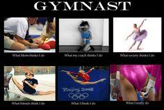 Gymnast.... sounds right