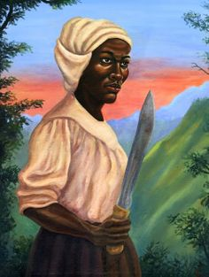 nanny of the maroons   http://jamaicanechoes.com/11-facts-about-nanny/