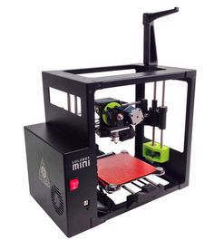 The LulzBot Mini 3D Printer -- an affordable consumer 3D printer.