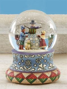 Jim Shore Snow Globe