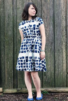 Marigold Dress with Dixie DIY - Blank Slate Sewing Team - Melly Sews