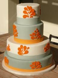 Maybe for cake, but teal instead of grey.