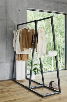 30 Chic and Modern Open Closet Ideas For Displaying Your Wardrobe - No closet? No problem! If you are short on closet space and wardrobe storage, then an open closet c - Open Wardrobe, Diy Wardrobe, Wardrobe Storage, Hanging Wardrobe, Closet Shelving, Corner Wardrobe, Antique Wardrobe, Wardrobe Furniture, Black Wardrobe