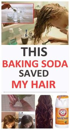 Baking soda is an incredibly easy way to clean your hair! It sounds shocking but you'll see the results the moment you decide to try it!