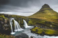 Travel Photography:  Kirkjufellsfoss & Kirkjufell, Snæfellsness, Iceland » Acalbright.com