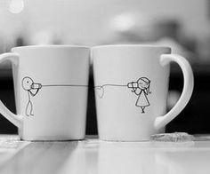 Too cute! What sweet way to enjoy morning coffee w/the hubs. :)