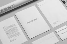 We produced a logo design and VI of SAKS-BOOKS.
