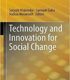 Technology And Innovation For Social Change PDF