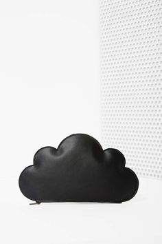 Cloud Up Leather Clutch |