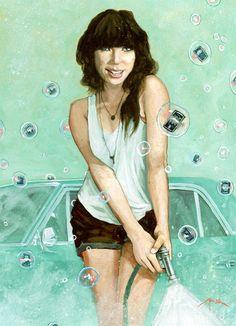 Best New Artist Nominee Carly Rae Jepsen, illustrated by artist Jon Stich: http://www.mtv.com/ontv/vma/2012/best-new-artist/