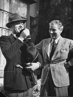 Charles Boyer & Ronald Colman (originally from elleryqueen)