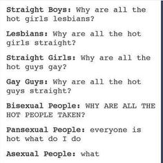 actually, asexual just means not sexually attracted so they need to get their facts right