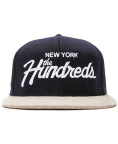 THE HUNDREDS - TEAM SNAPBACK CAP (NAVY)