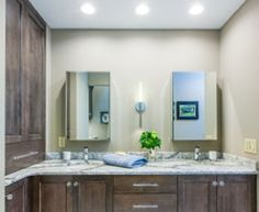 master bath design by carol crystal kitchen bath incorporating two sinks cambria