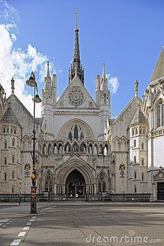 Royal Courts of Justice, Strand, London, England by Godrick, via Dreamstime