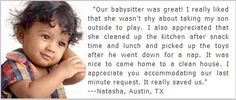 Kids LOVE our #Babysitters! Schedule one now for anywhere in & around #Austin. 512-345-4577 https://www.facebook.com/AustinsCapitalGrannies http://austin-babysitter.com/