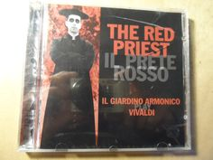 Vivaldi*, Il Giardino Armonico – The Red Priest Label: TELDEC – 0630-15482-2 Format: CD Country: Europe Released: 1996 Genre: Classical Priest, Label, Europe, Treats, Country, Books, Red, Sweet Like Candy, Goodies