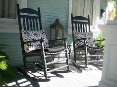 Ma Maison.....The Front Porch