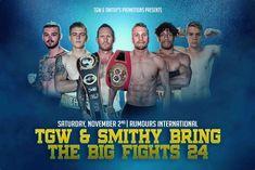 Jamie Hilt vs Cairo George Live| Saturday 2 November 2019 James Macdonald, November 2019, Cairo, Boxing, Live, Hand Warmers, Brass Knuckles