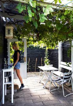 Stemningsfuld terrasse