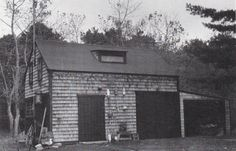 1st school dame for the Waquoit area - the building now the Ostroms barn.