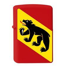 Zippo mit Berner Wappen Bern, Ferrari Logo, Lighter, Logos, Collection, Atelier, Crests, Printing, Logo