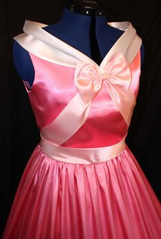 Adult Cinderella Pink Gown Costume -- If I had this, I would wear it at least 3 times  a week.