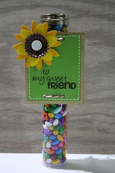A Sweet Tube for a Sweet Friend