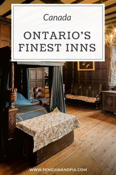 Ontario, Canada, is full of beautiful Inns and Guesthouses. We share 9 of the best Inns in across the province which offer spas, activities, and beautiful rooms. Perfect stop for a road trip or a relaxing weekend! Ontario Travel, Toronto Travel, Couples Vacation, Family Vacations, Vacation Ideas, Best Weekend Getaways, The Perfect Getaway, Close To Home, Roadtrip