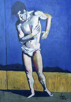 Al Mattino Artwork, Canvas, Humanoid Sketch, Painting
