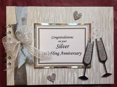 Beautiful Creation for a Silver Wedding Anniversary