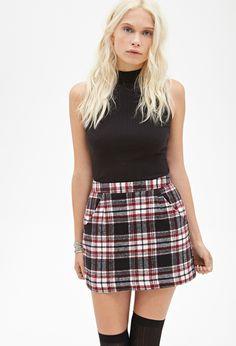 Plaid Flannel Skirt | FOREVER21 - 2000100454