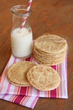 Soft and Chewy Snickerdoodles from ourbestbites.com