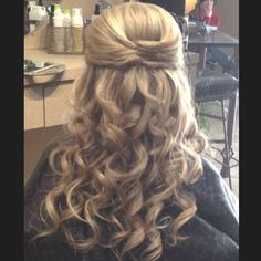 Formal hair!