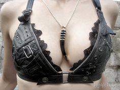 Voluptuous Vixen Bra Top por JungleTribe en Etsy