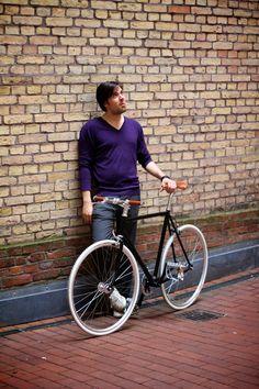 HARDENBERG Bikes – einer meiner ersten Kunden, Ben mit seinem HARDENBERG Eins