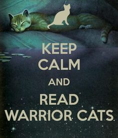 Warrior cat series by Erin Hunter. Leafpool is pictured.