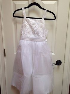 Picture Perfect Sweet Heart Rose White Girl Communion Dress NWT Size 10 #SweetHeartRose