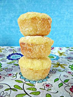 Lemon Yogurt Sugar Muffins from Cinnamon Spice and Everything Nice