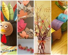 7 Thanksgiving Gratitude Crafts and Printables