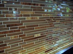 Traditional Mosaic Glass Tile Backsplash Photos
