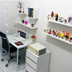 Girl Bedroom Designs, Girls Bedroom, Bedroom Decor, Home Office, Office Desk, Kids Library, Decoration, My Room, Flipping